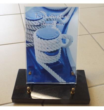 Plaque Plexi corde
